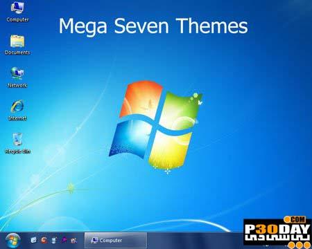 دانلود مجموعه ای فوق العاده زیبا از تم های ویندوز 7 برای XP