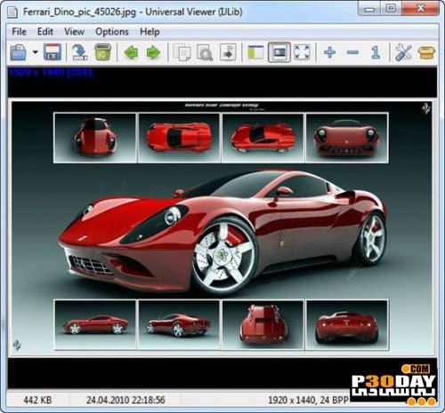 دانلود نرم افزار همه کاره مشاهده فایل ها Universal Viewer Pro 6.3.0.0
