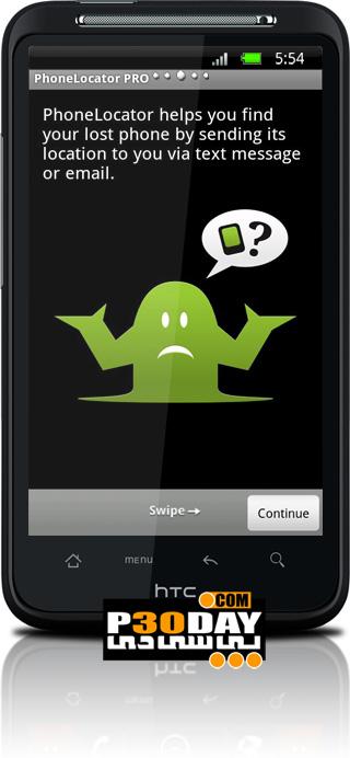 پیدا کردن گوشی موبایل آندروید دزدیده شده PhoneLocator Pro v3.1