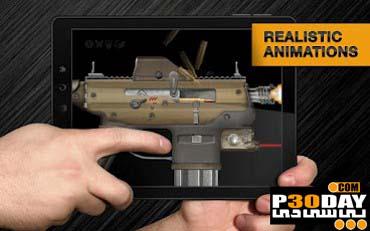 بازی جالب شبیه سازی اسلحه Weaphones Firearms Simulator v1.0.2 آندروید