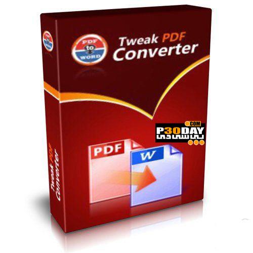 دانلود نرم افزار تبدیل فایل های PDF با Tweak PDF Converter v5.0 Portable