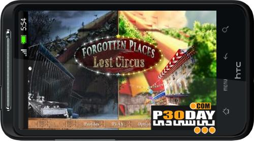 یافتن اشیا مخفی در بازی Forgotten Places: Lost Circus v1.0 مخصوص آندروید