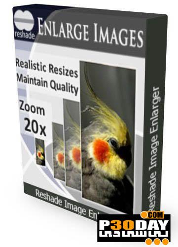 دانلود نرم افزار زوم عکس تا 250 برابر Reshade Image Enlarger 3.0