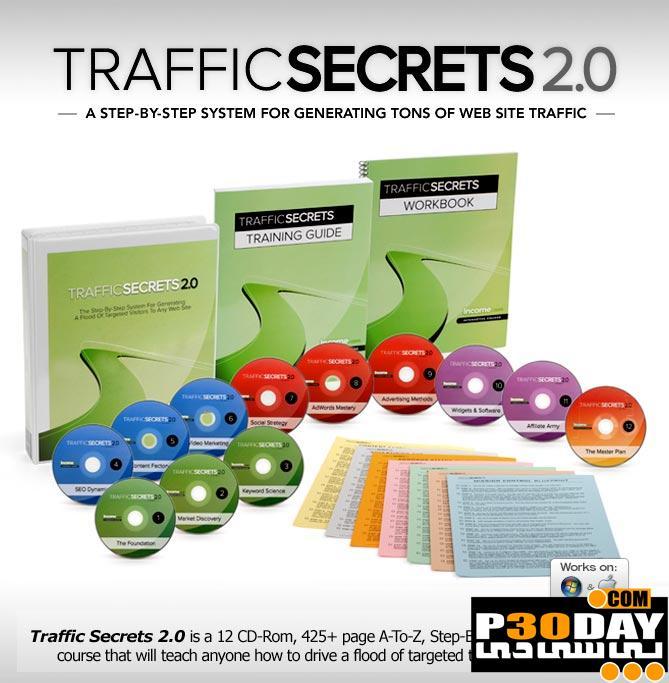 دانلود مجموعه فیلم آموزشی افزایش ترافیک وبسایت Traffic Secrets 2.0
