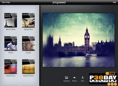 برنامه افکت گذاری بر روی تصاویر Nik Software Snapseed 1.0.0