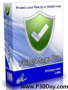 نرم افزار محافظت از پوشه ها FolderMage Pro v1.0.0.21
