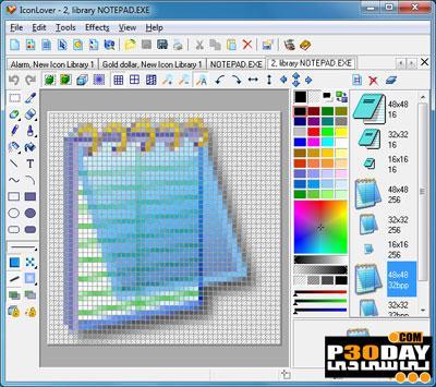 برنامه استخراج آیکونهای ویندوز ICL-Icon Extractor 5.0 Portable