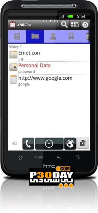 افزایش قابلیت کپی کردن در موبایل آندروید aNdClip 2.0.2