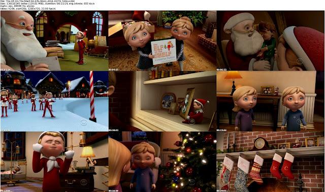 دانلود انیمیشن کوتاه The Elf's Story The Elf on the Shelf 2011