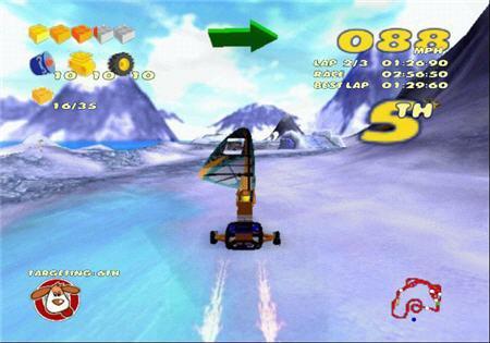 دانلود بازی مسابقه ای Lego Racers 2 Portable
