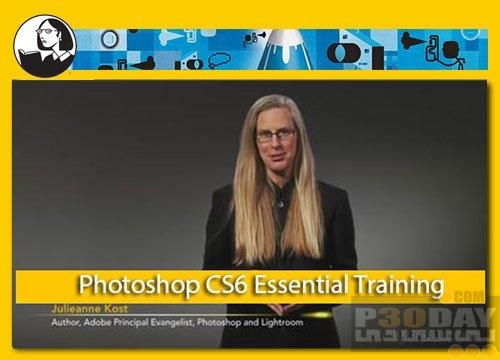دانلود آموزش تصویری کامل Photoshop CS6 شرکت Lynda