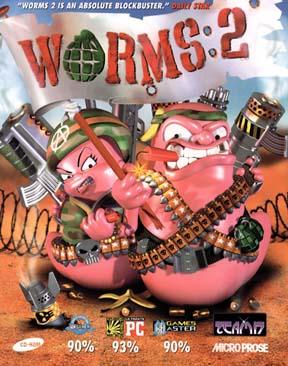 دانلود بازی زیبا و کم حجم Worms 2 با لینک مستقیم