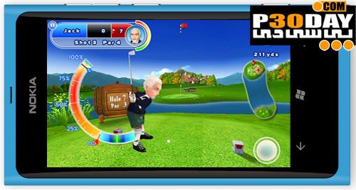 دانلود بازی گلف ویندوز فون 7 – Lets Golf 2 v1.3