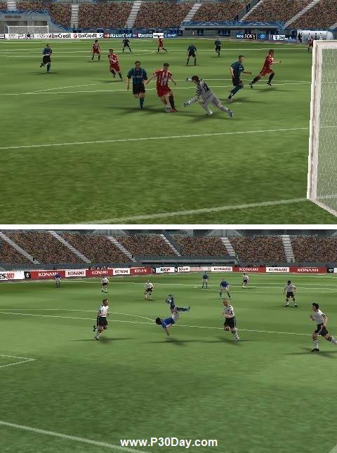 دانلود بازی فوتبال آندروبد PES 2011 Android