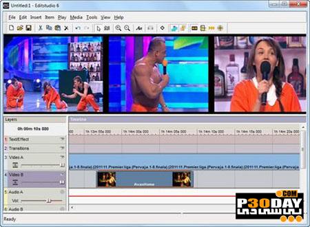 نرم افزار ویرایش ساده ویدیوها Mediachance EditStudio Pro 6.0.5 Portable