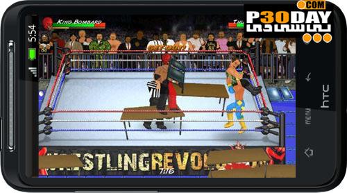 دانلود بازی کشتی کچ آندروید Wrestling Revolution 1.19