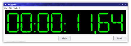 دانلود کرونومتر زیبا برای کامپیوتر Stopwatch-Stoppuhr 8.10.1