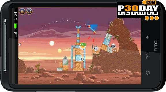 دانلود نسخه جدید پرندگان خشمگین Angry Birds Star Wars HD v1.0 آندروید