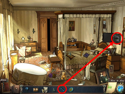 بازی یافتن اشیا گمشده Mystery Of Mortlake Mansion