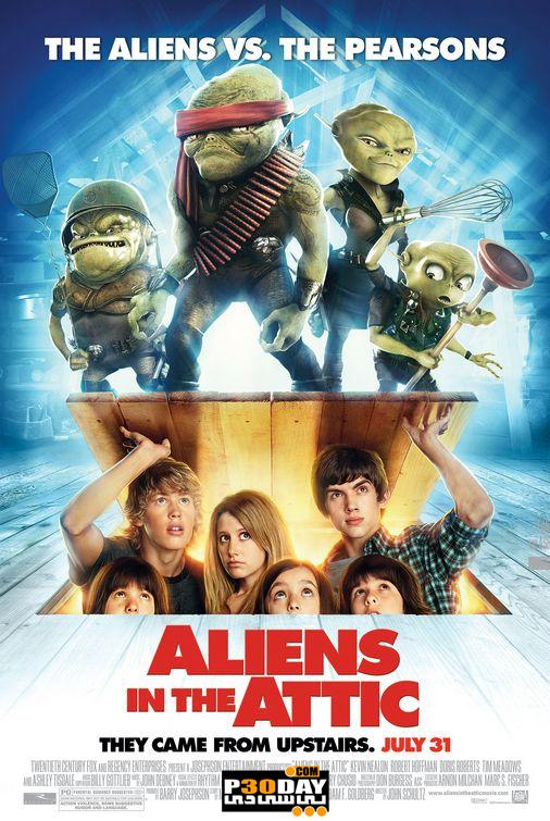 دانلود انیمیشن کمدی Aliens in the Attic 2009 + زیرنویس فارسی