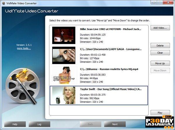VidMate Video Converter 8.5.6 - مبدل فایلهای ویدیویی
