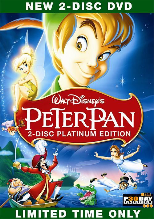 دانلود انیمیشن زیبای Peter Pan 1953