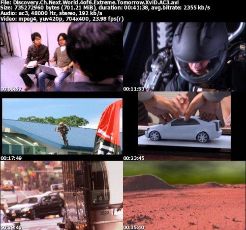 مستند جهان آینده قسمت چهارم Discovery Channel Next World Extreme Tomorro