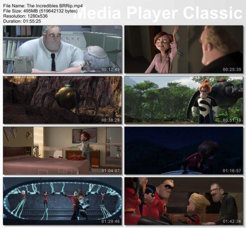 دانلود انیمیشن شگفت انگیزان The Incredibles 2004 + زیرنویس فارسی