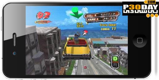 دانلود بازی فوق العاده زیبا و خاطره انگیز Crazy Taxi v1.0.0 آیفون
