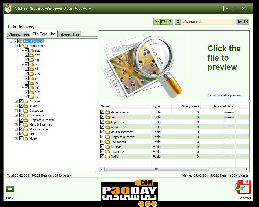 بازیابی پیشرفته اطلاعات با نرم افزار Stellar Phoenix Windows Data Recovery Professional 5.0.0.2