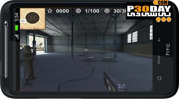 دانلود بازی فوق العاده زیبا و اکشن Arma II: Firing Range THD آندروید