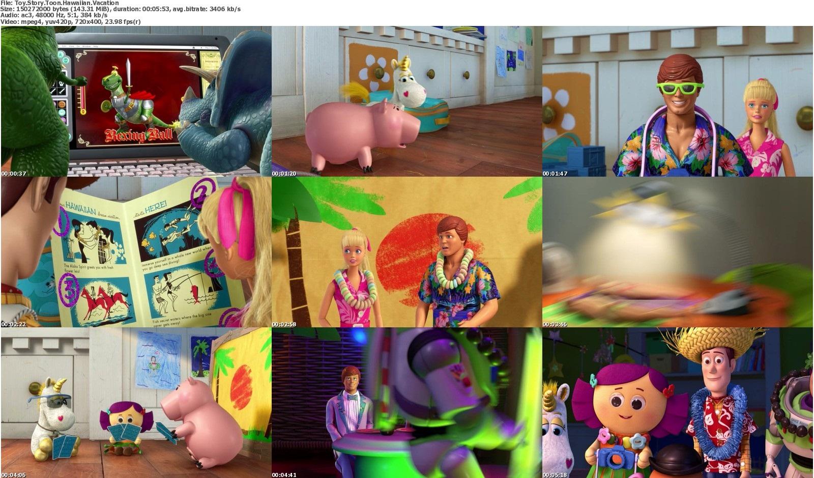 دانلود انیمیشن کوتاه Toy Story Toon Hawaiian Vacation 2011