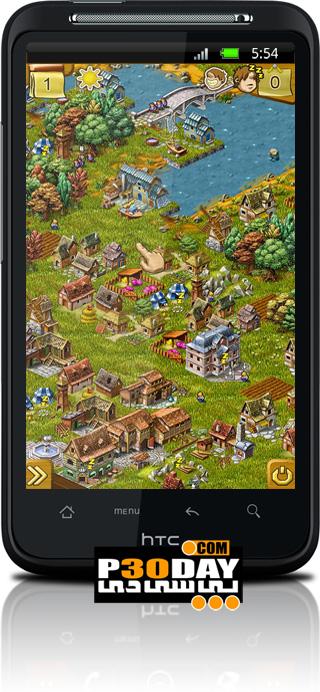 دانلود بازی جدید استراتژیکی موبایل آندروید Townsmen 6 v1.1.3