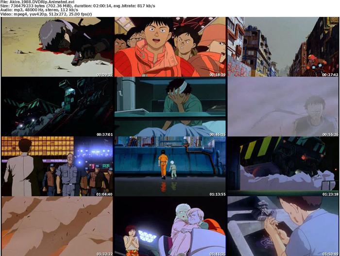 دانلود انیمیشن علمی تخیلی Akira 1998