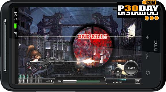 دانلود بازی فوق العاده زیبا و جذاب Ghost Sniper : Zombie v1.05 آندروید