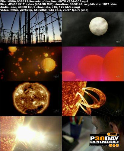 دانلود فیلم مستند اسرار خورشید PBS - NOVA: Secrets of the Sun 2012