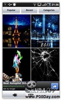 قرار دادن عکس پس زمینه دلخواه در موبایل آندروید با Backgrounds 2.0