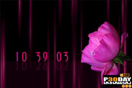 دانلود اسکرین سیور زیبا و جذاب PinkRose ScreenSaver