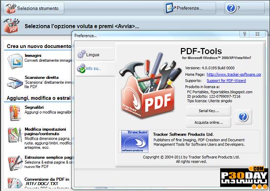 ساخت و ویرایش فایلهای PDF با Tracker Software PDF-Tools 4.0.0200 Portabl