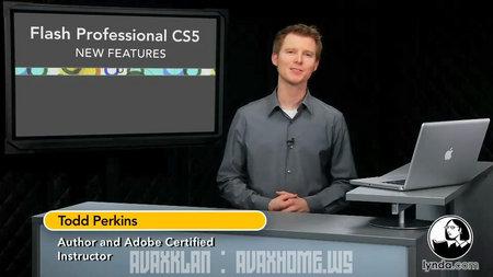 دانلود آموزش تصویری کامل فلش Adobe Flash CS5 Essential Training
