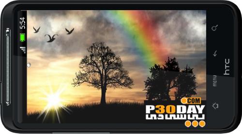 دانلود والپیپر متحرک Sun Rise Live Wallpaper v3.2 Full مخصوص آندروید