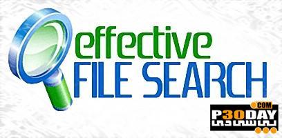 برنامه جستجو سریع و حرفه ای فایلها Effective File Search 6.8
