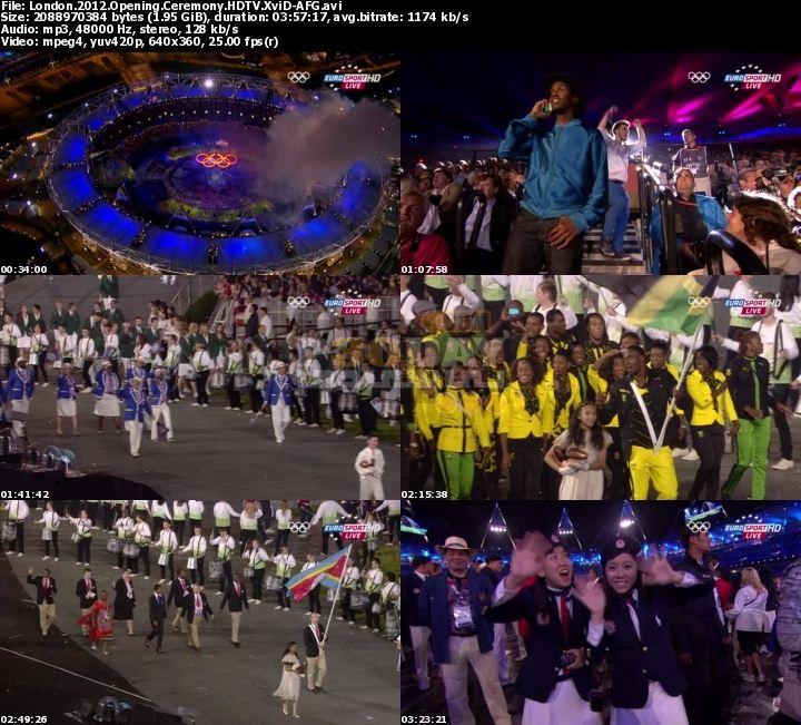 دانلود مراسم افتتاحیه المپیک London Olympics Opening Ceremony 2012