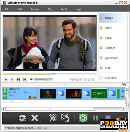 برنامه ساخت و ویرایش فیلم Xilisoft Movie Maker 6.5.2.0907