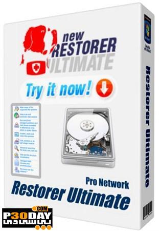 دانلود برنامه بازیابی اطلاعات مهم سیستم Restorer Ultimate v.7.0.701112