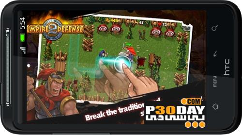 دانلود بازی جنگی و استراتژیک Empire Defense 2 FULL v1.1.3 مخصوص آندروید