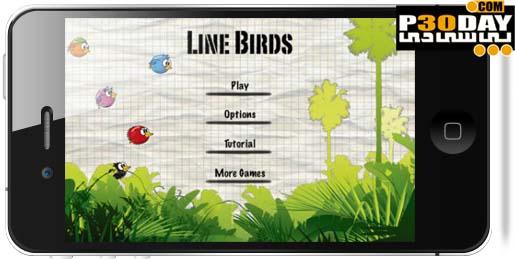 دانلود بازی بسیار زیبا و اعتیادآور Line Birds 1.8 آیفون