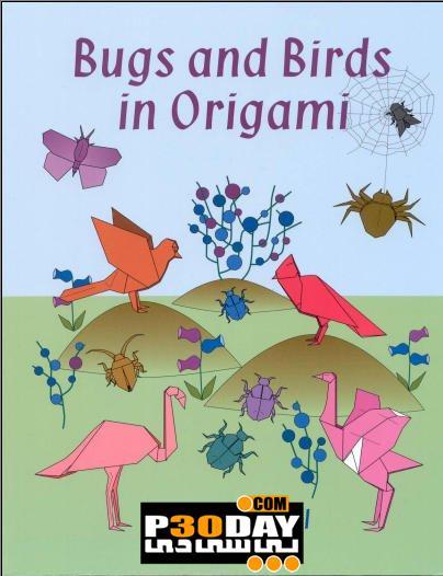 دانلود کتاب طراحی اوریگامی Bugs and Birds in Origami