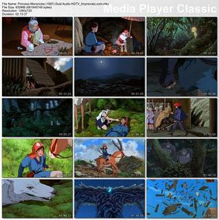 دانلود انیمیشن خاطره انگیز Princess Mononoke 1997