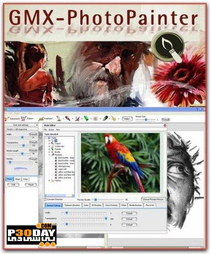تبدیل عکس دیجیتالی به نقاشی با Gertrudis GMX-PhotoPainter 1.1.0.0705